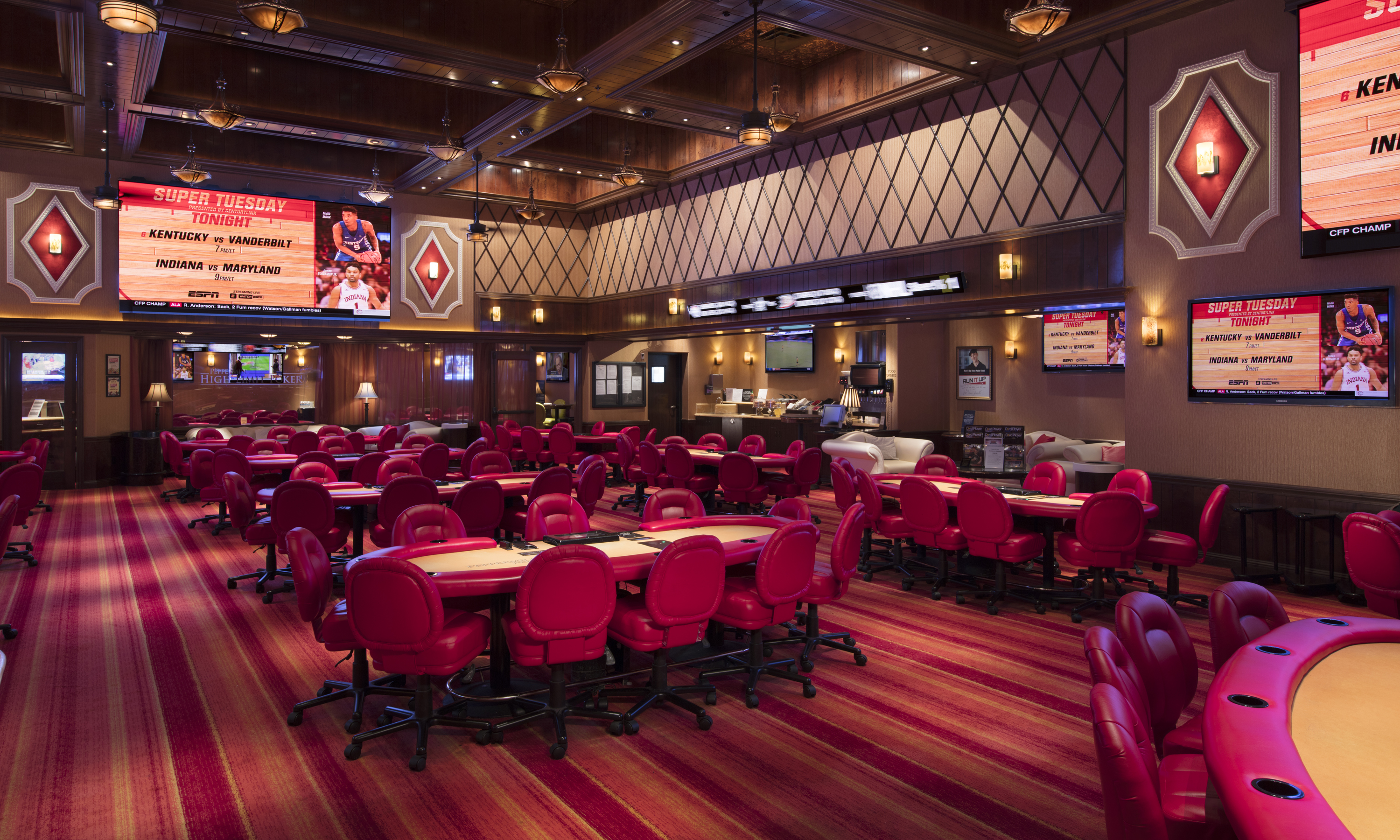 Luxury Poker Room | Peppermill Poker Reno