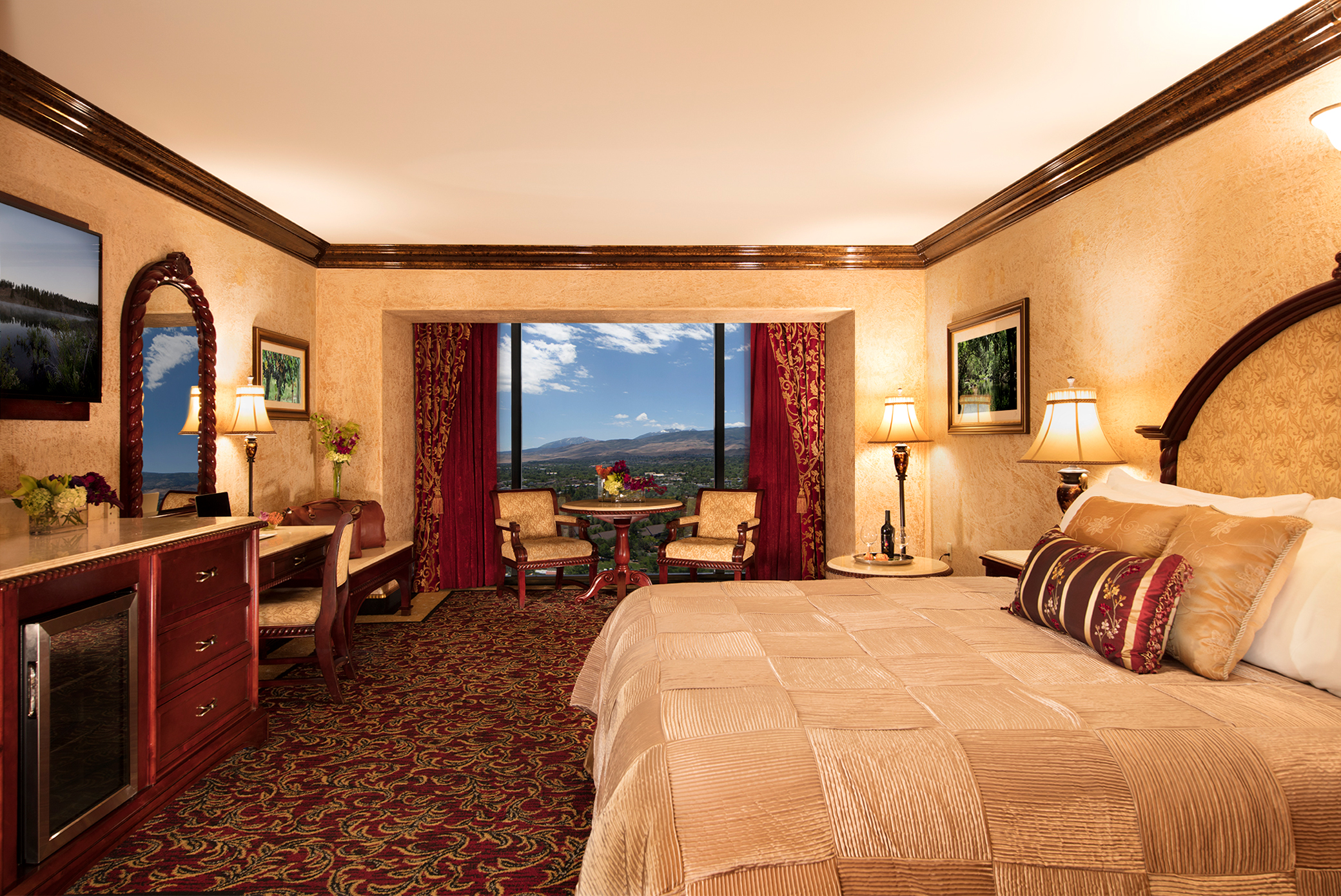 Tuscany King Suite Peppermill Resort Hotel Reno