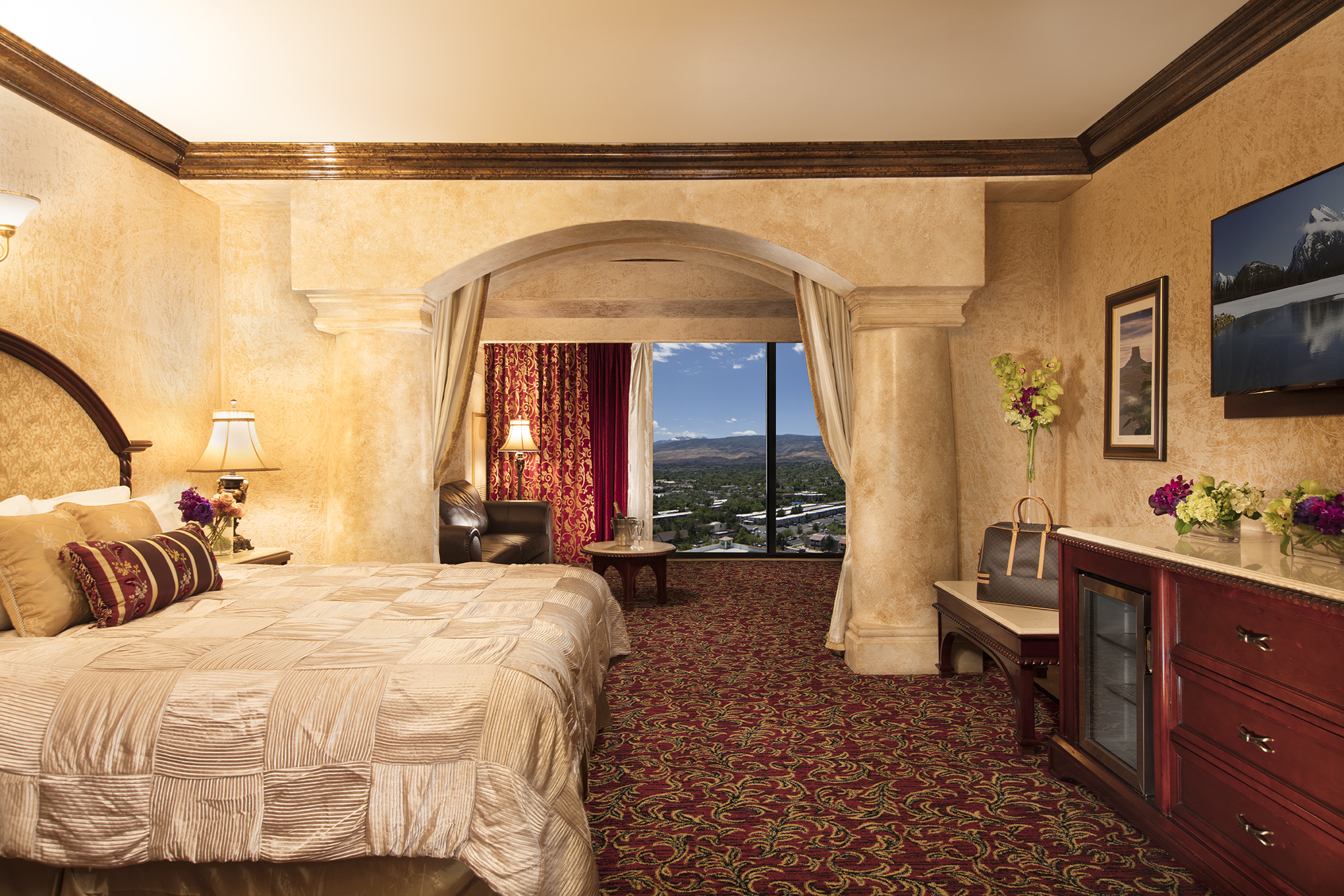 Tuscany Sienna Suite Peppermill Resort Hotel Reno