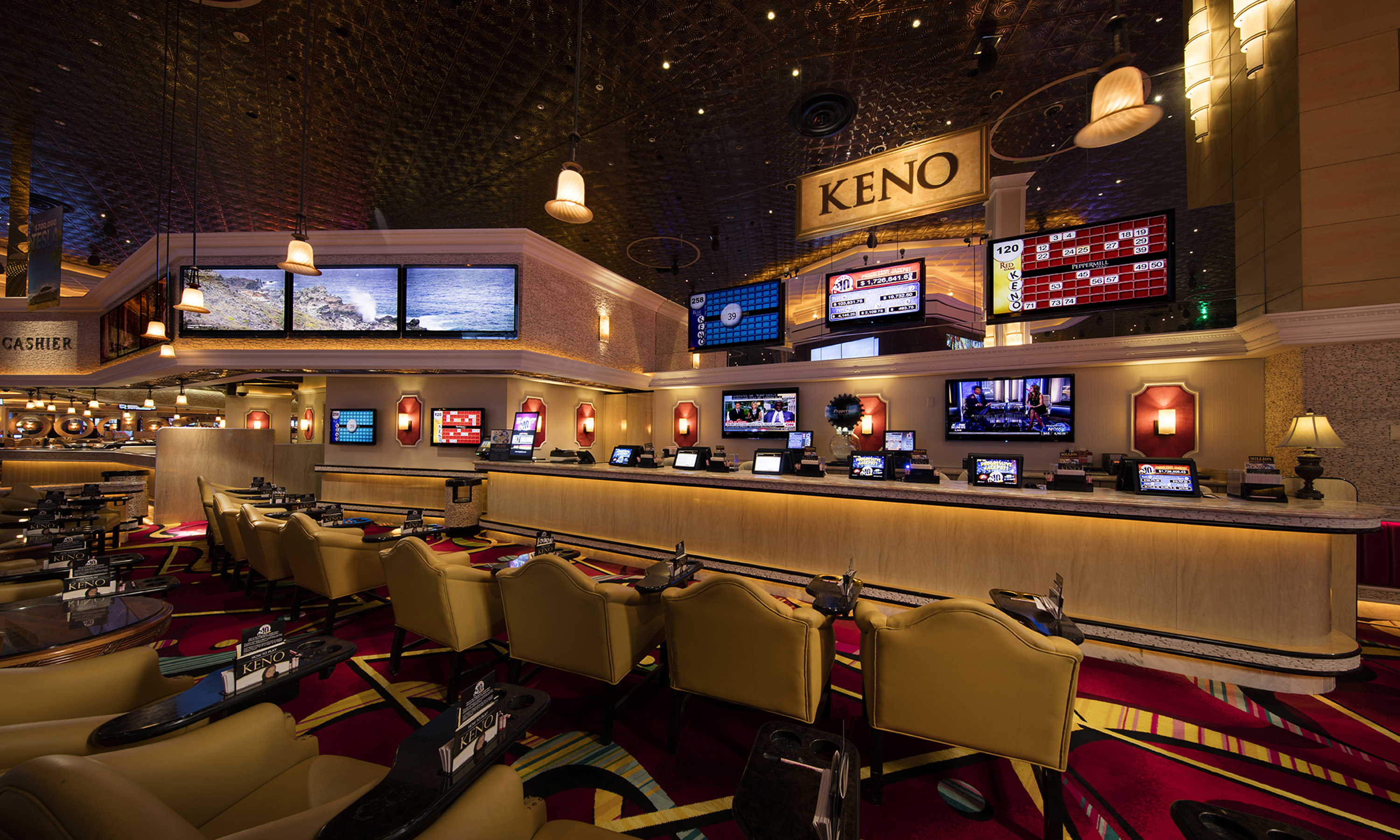 Keno Peppermill Reno Casino Resort