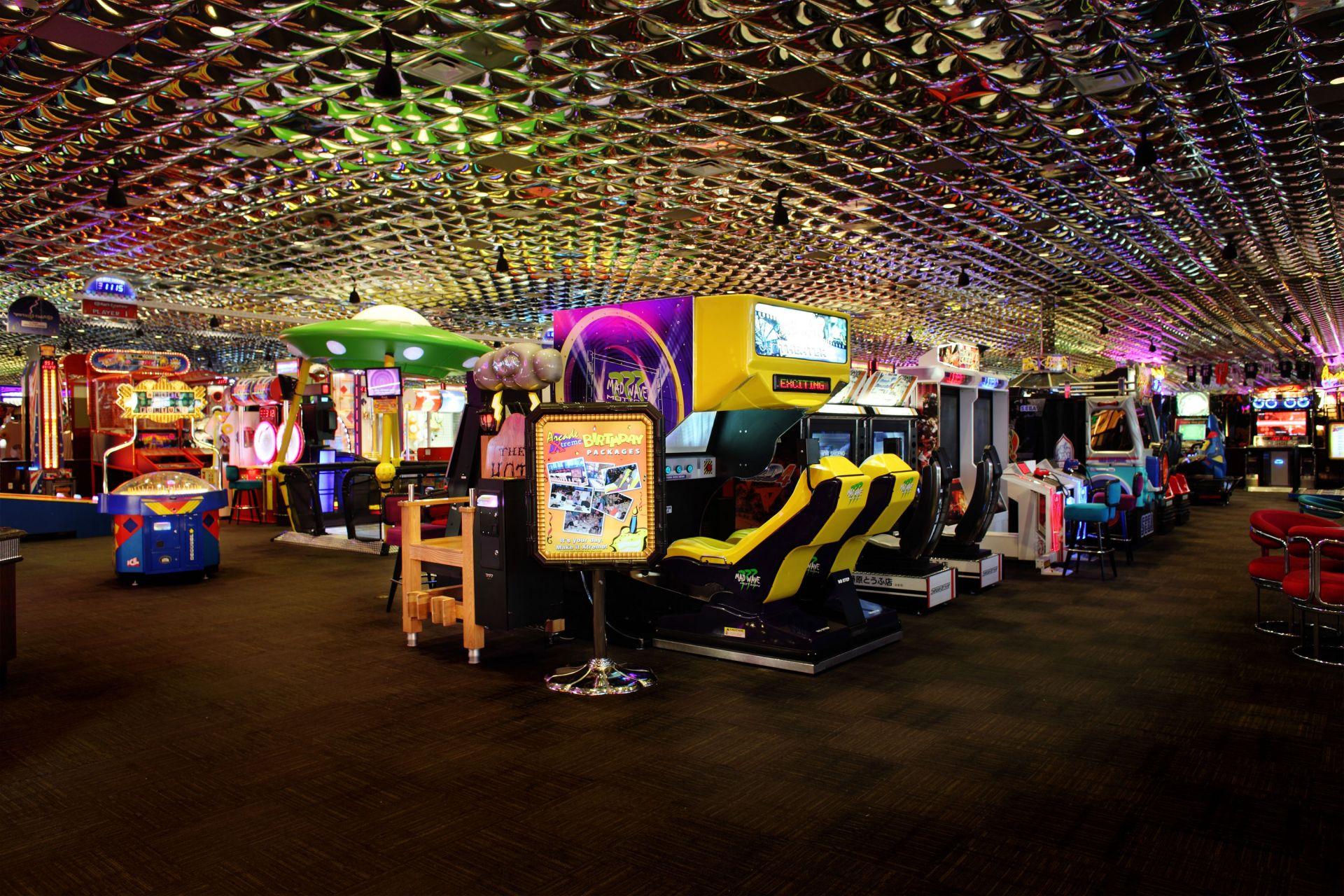 Arcade Xtreme Luxuries Amp Amenities At Peppermill Hotel
