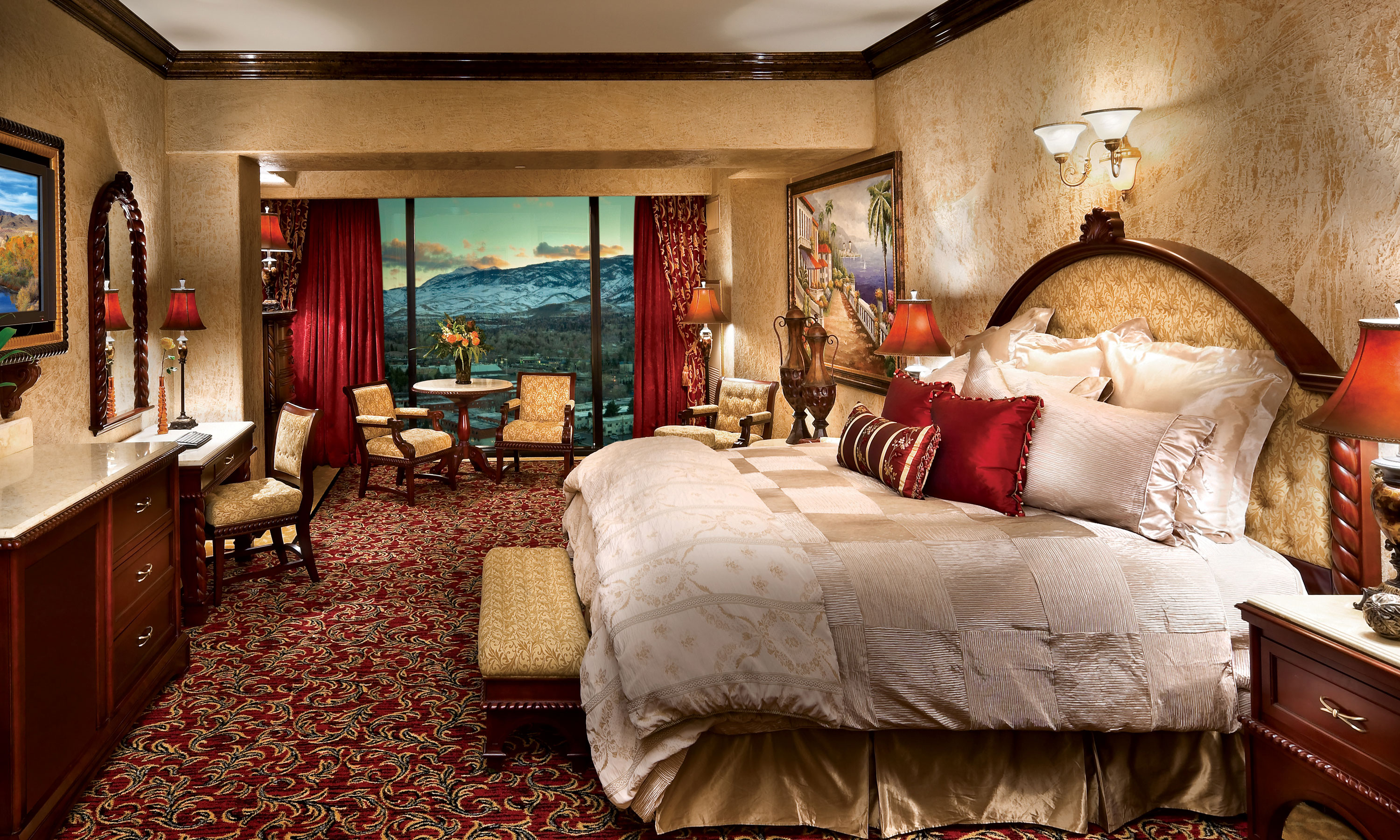 Tuscany Villa Suite Peppermill Resort Hotel Reno