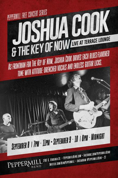 Joshua Cook and the Key of Now
