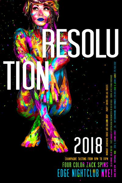 Resolution NYE Party