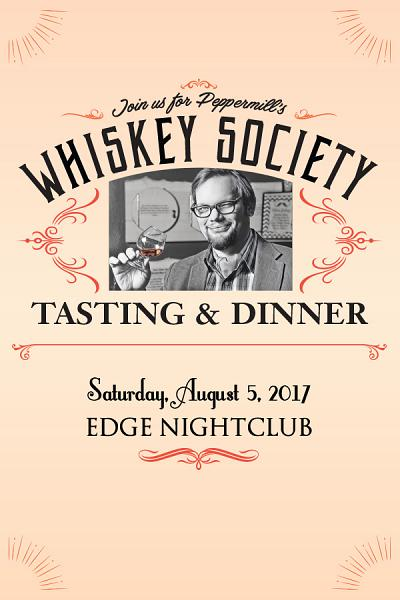 Whiskey Society Tasting & Dinner