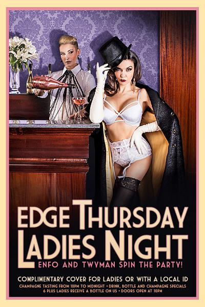 Ladies Night at EDGE Nightclub