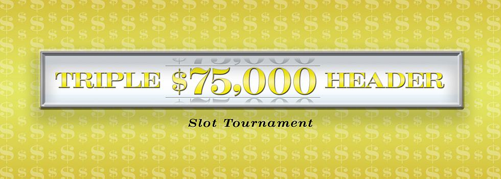 Peppermill Event: $75,000 Triple Header Slot Tournament Series 3 Round 3