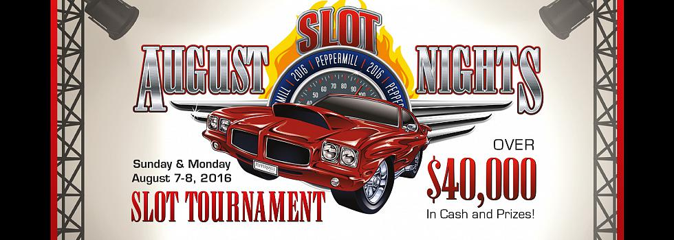 Peppermill Event: Slot August Nights