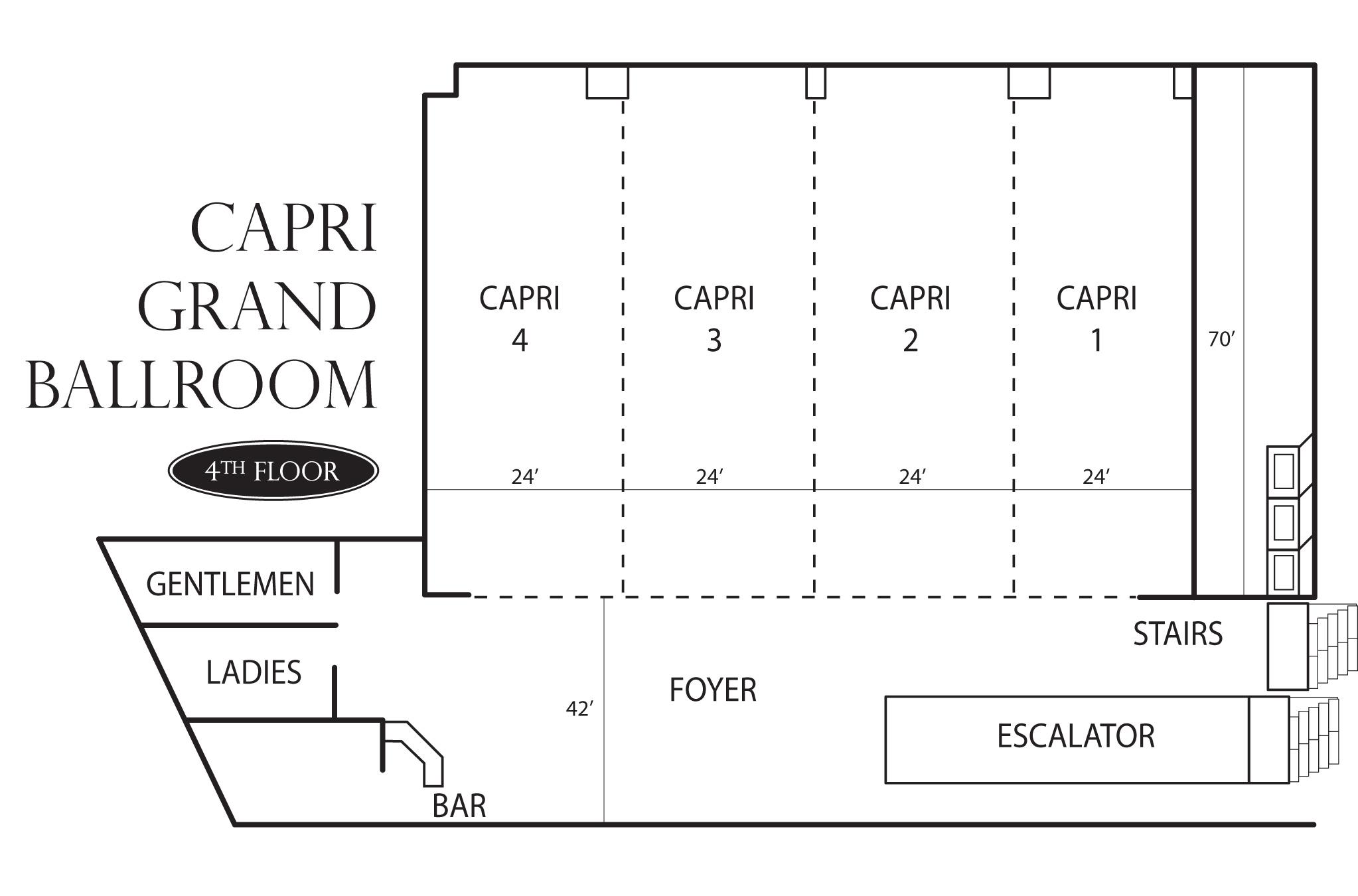 Capri Ballroom Meeting Venues At Peppermill Resort Spa