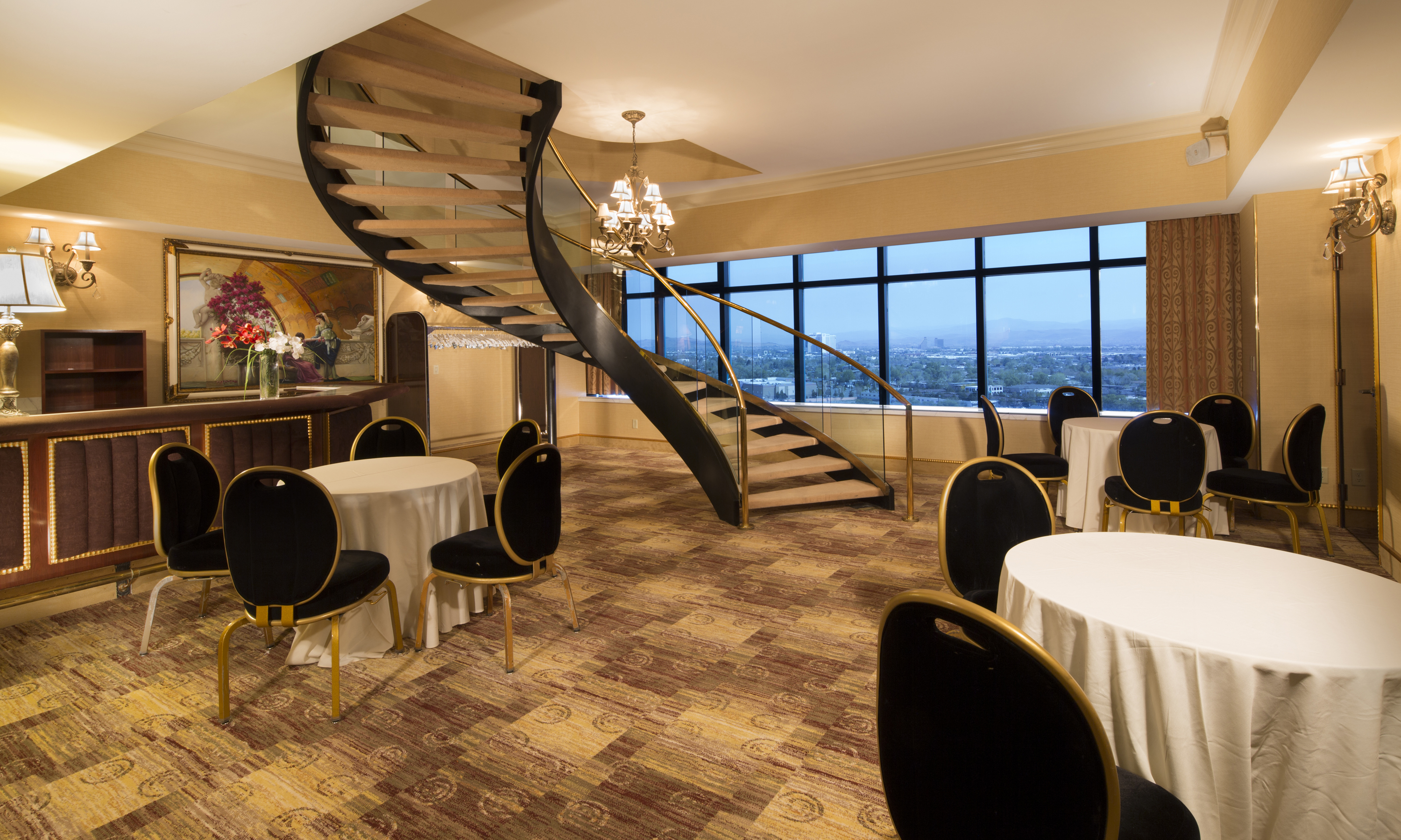 Penthouse Suites Meeting Venues At Peppermill Resort Spa