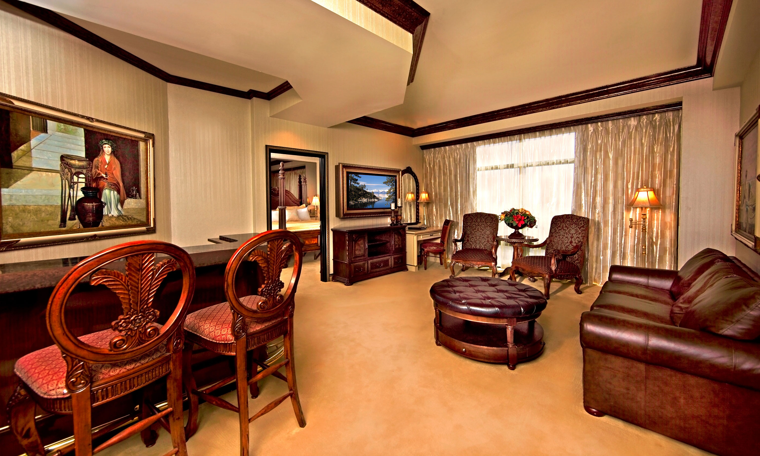 Peppermill tower luxury suite peppermill resort hotel reno