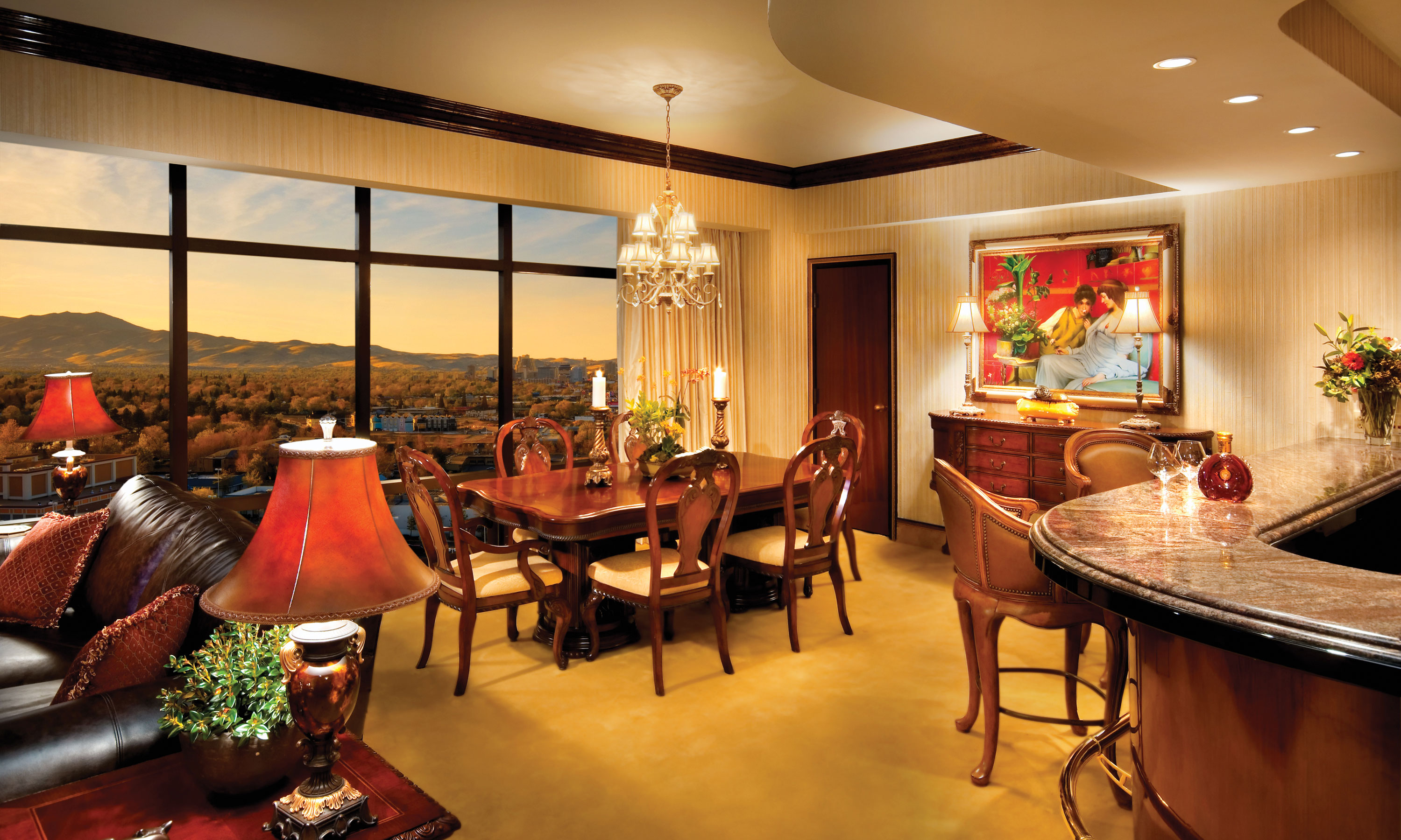 Peppermill Tower Penthouse Suite Peppermill Resort Hotel