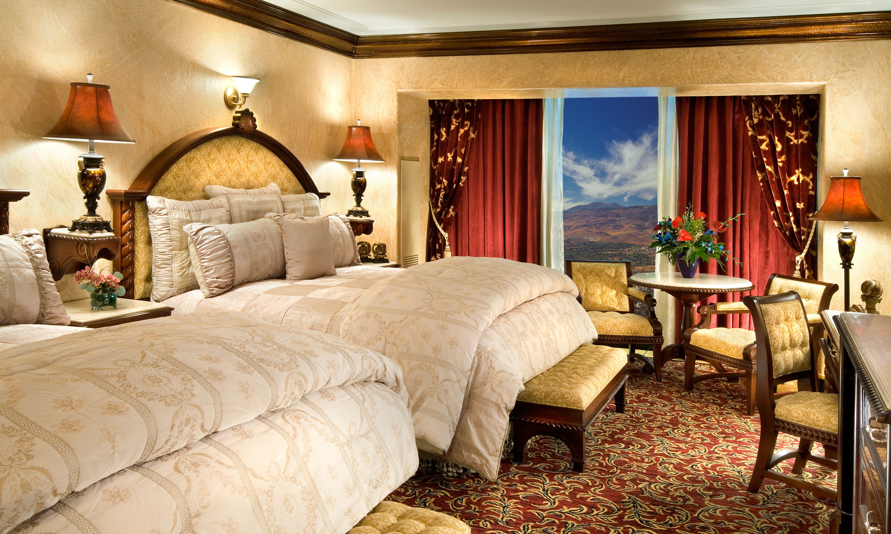 Tuscany Tower Suites Reno Hotel, NV | Peppermill Casino Hotel