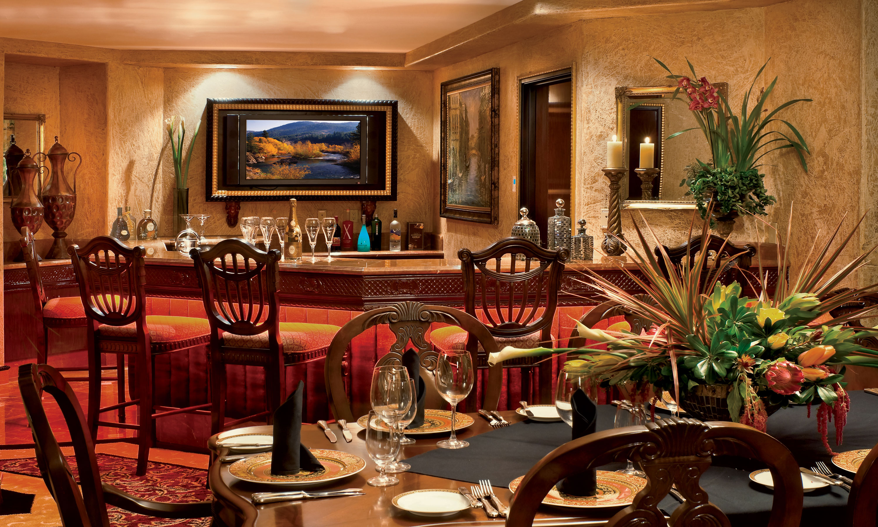 Tuscany Palace Suite Peppermill Resort Hotel Reno