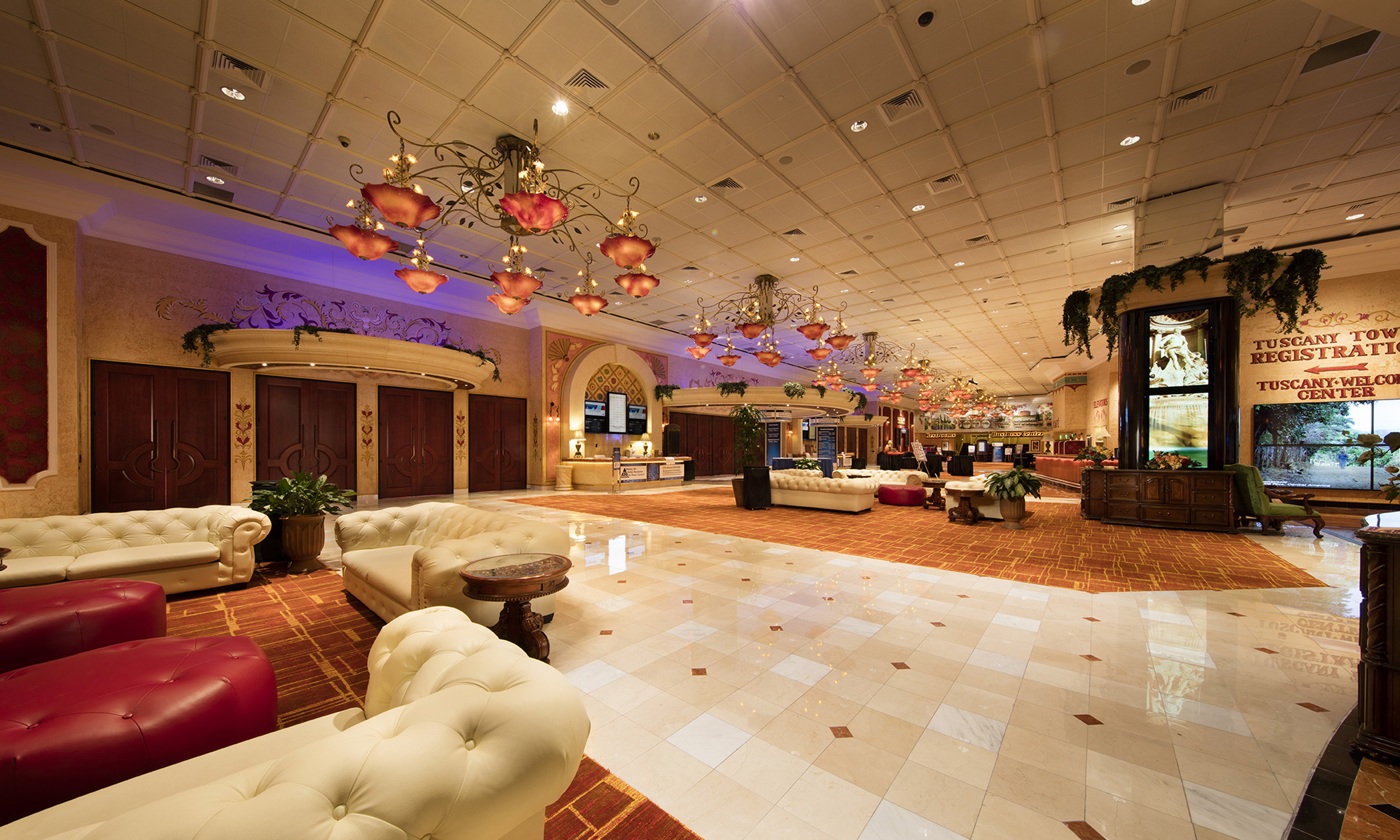 Tuscany Ballroom Meeting Venues At Peppermill Resort Spa
