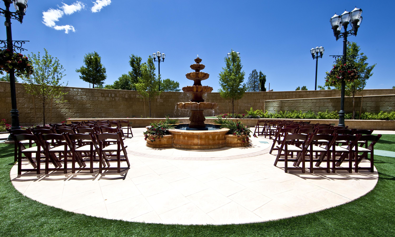 Outdoor Seating Area Wedding